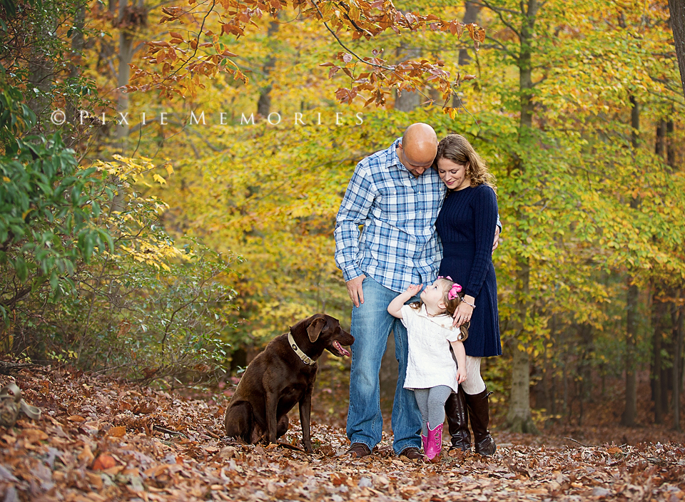 Fall Family with Pet Dog_Web